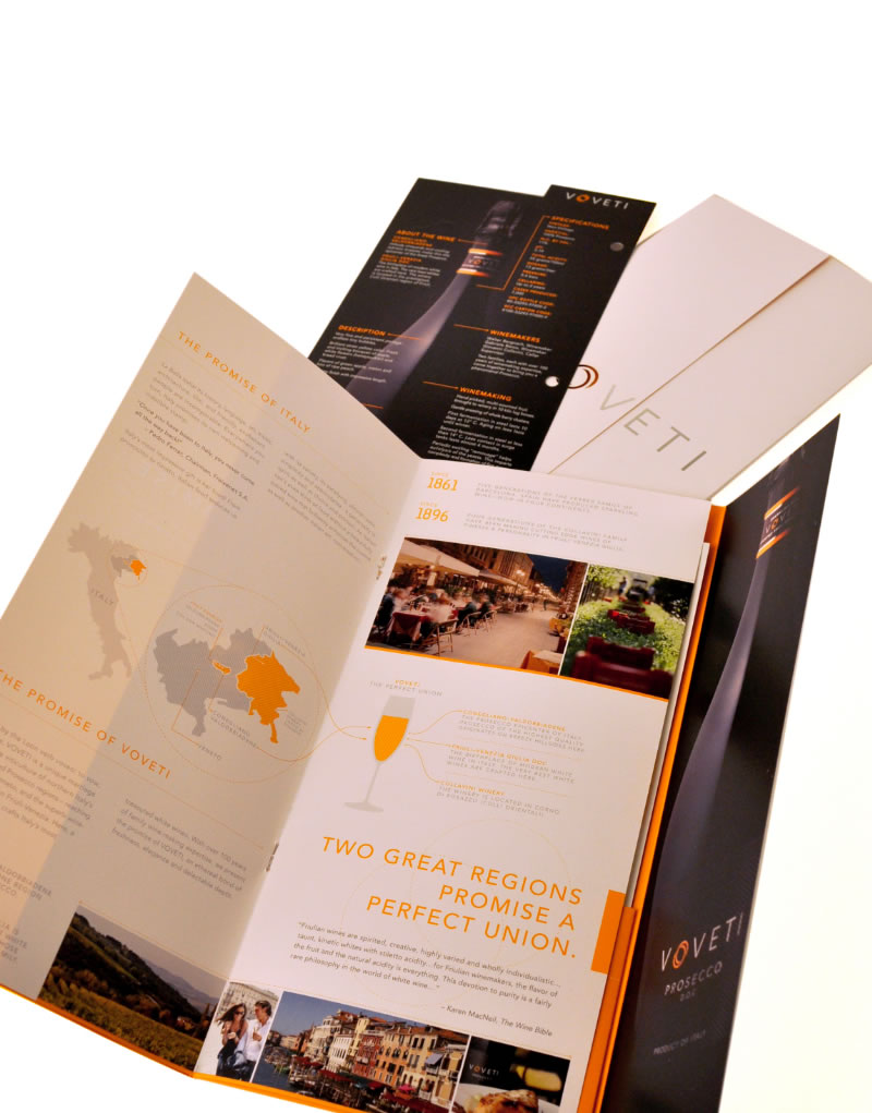 Voveti Brochure Spread Design