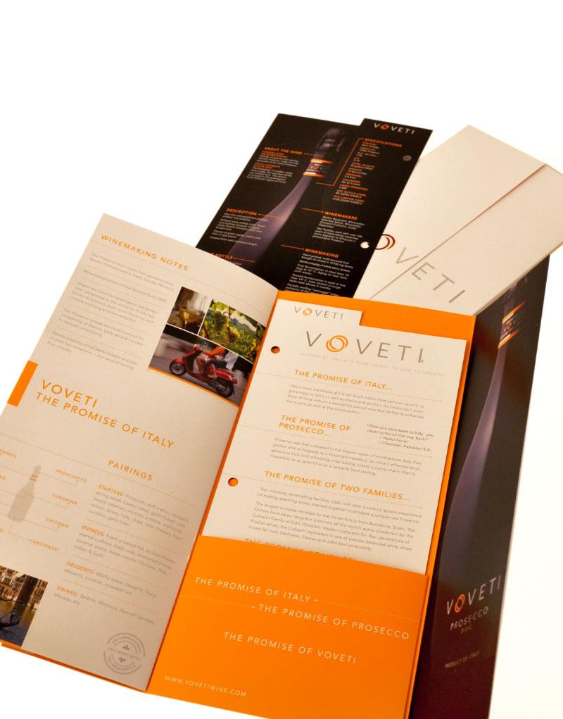 Voveti Sales Sheet Insert Design