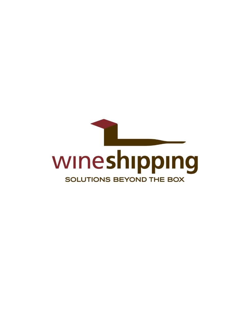 Wine Shipping Logo Design