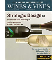Wines & Vines – 11th Annual Packaging Issue