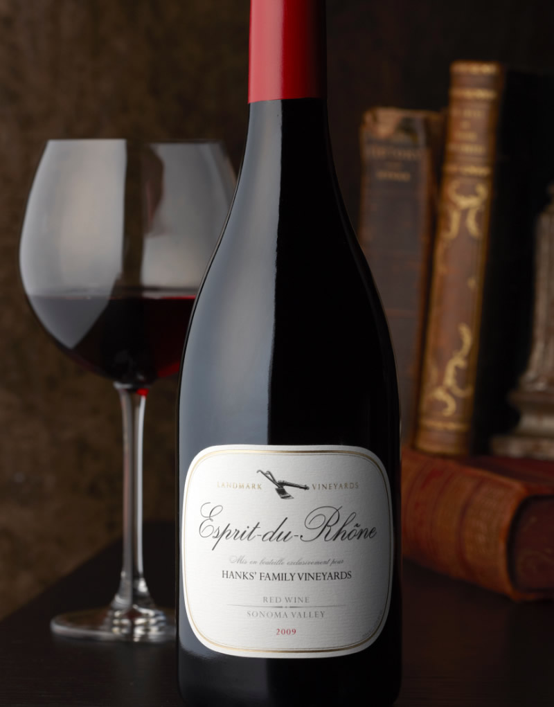Esprit du Rhone Wine Packaging Design & Logo