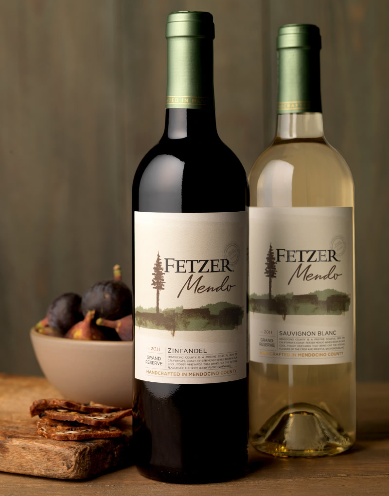 Fezter Wine Packaging Design & Logo Mendo Collection