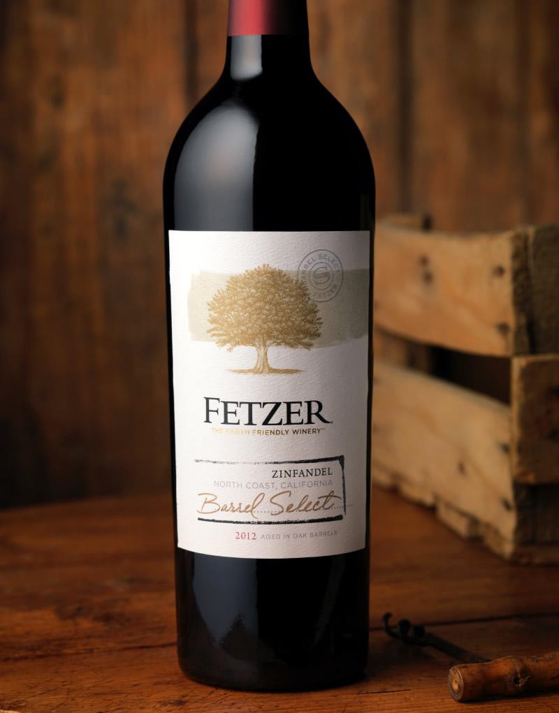 Fetzer Wine Packaging Design & Logo Barrel Select