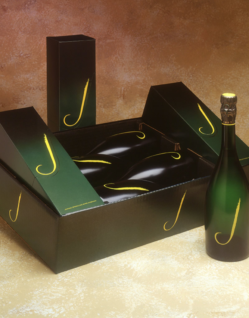 J Vineyards & Winery Gift Box Design
