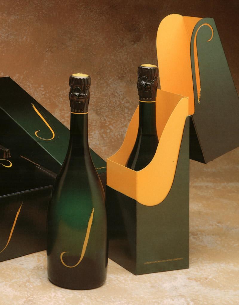 J Vineyards & Winery Packaging System Design