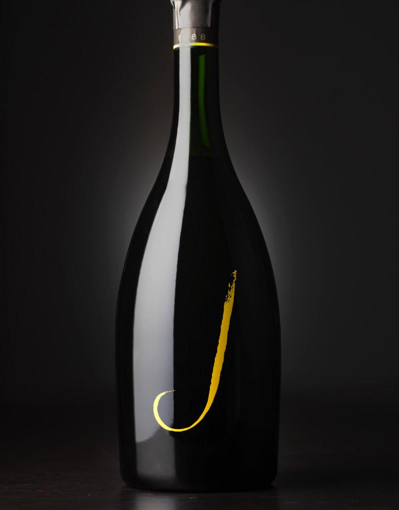 J Vineyards & Wine Packaging Design & Logo Sparkling Wine