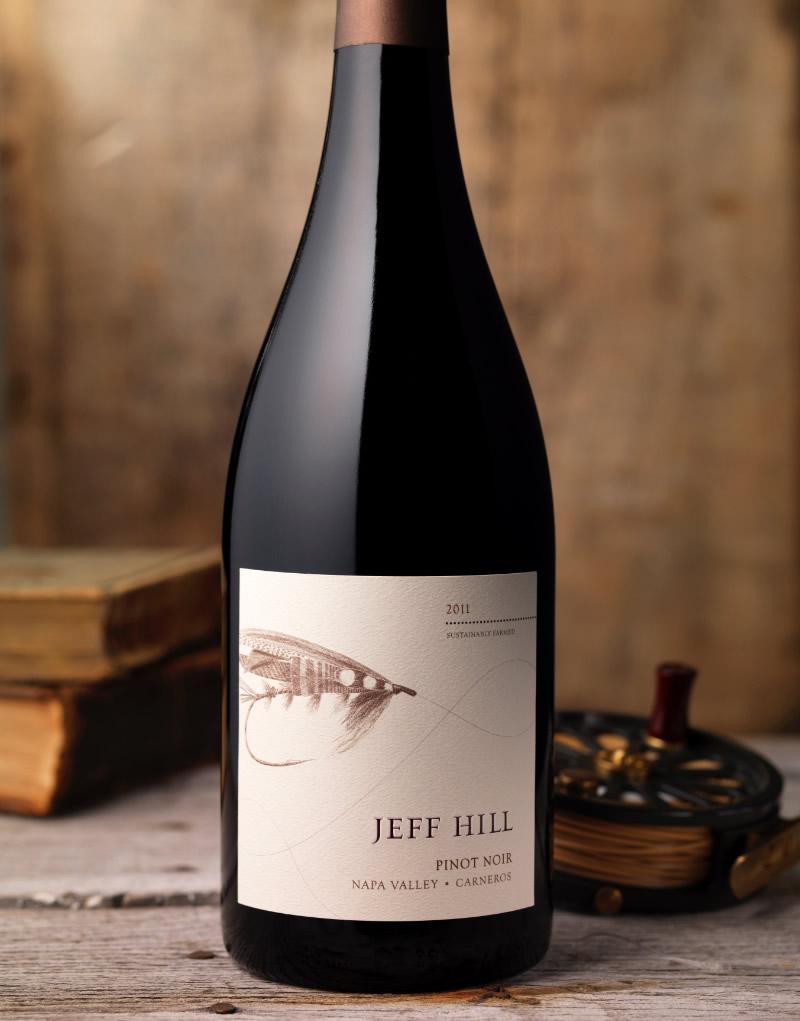 Jeff Hill Wine Packaging Design & Logo