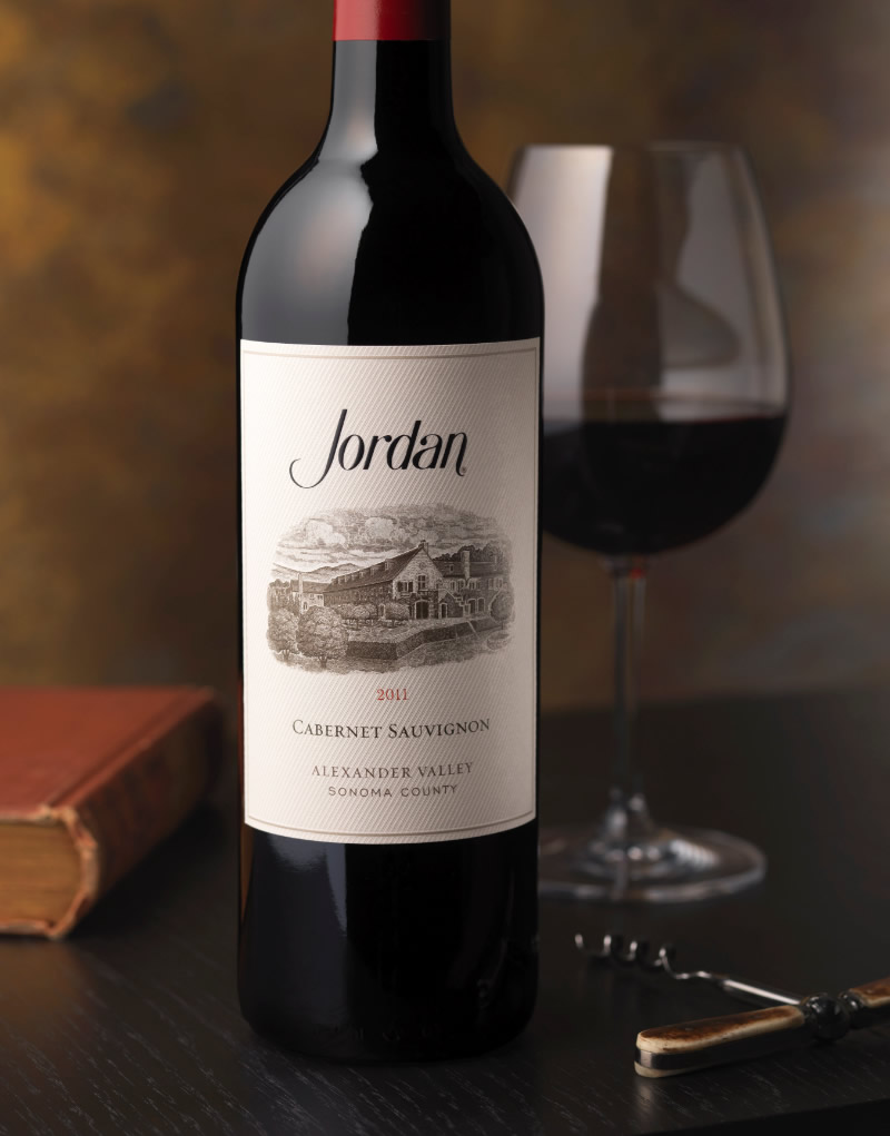 Jordan Winery Packaging Design & Logo