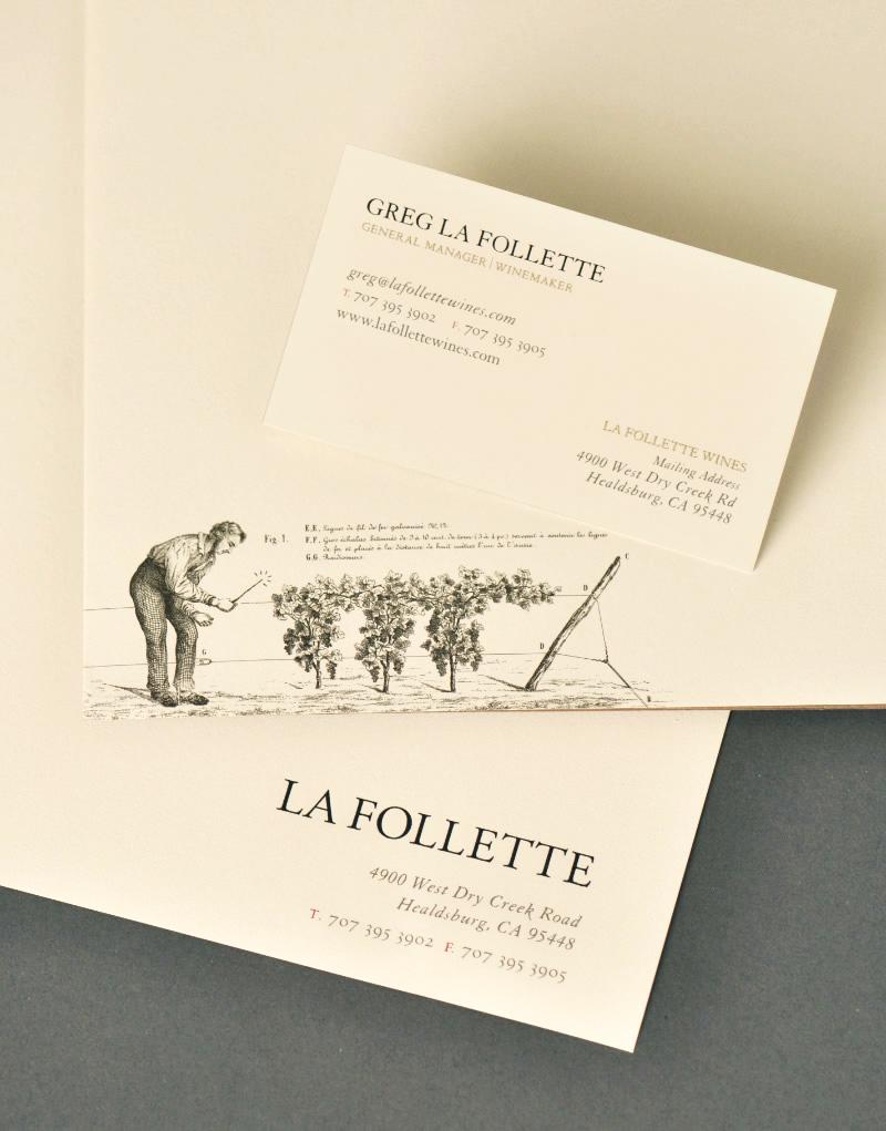 La Follette Stationery Design