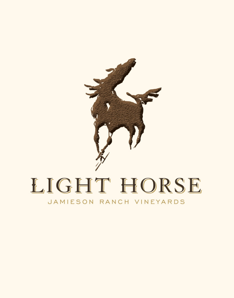 Light Horse Logo Design