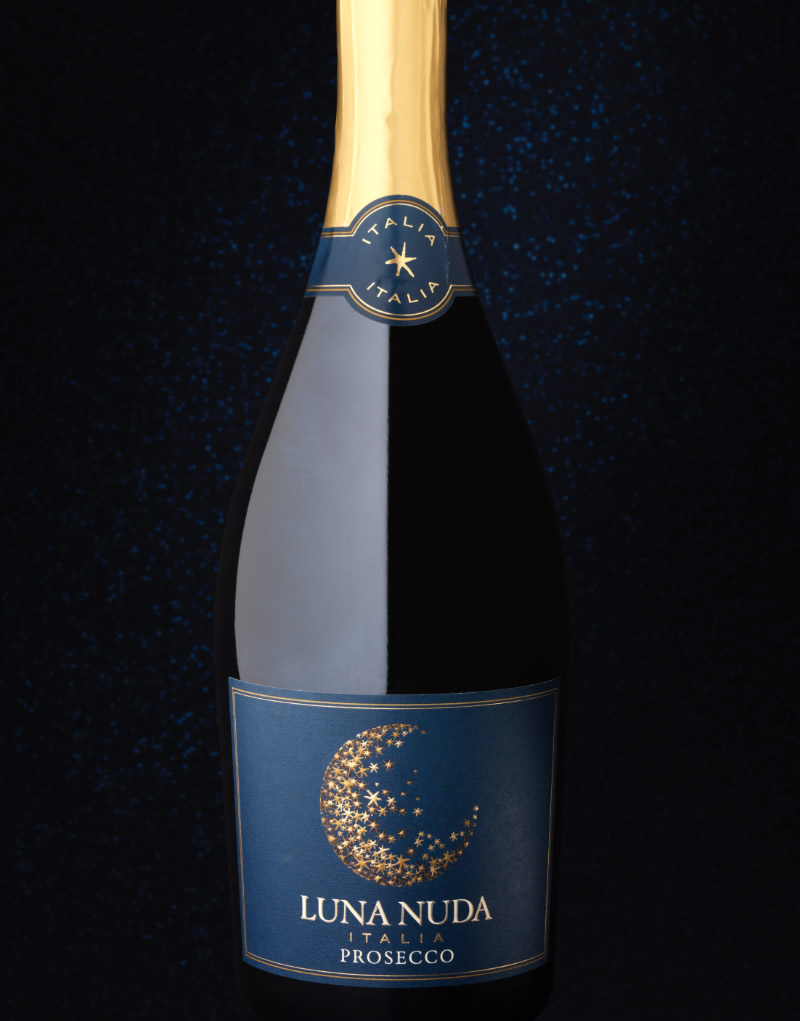Luna Nuda Wine Packaging Design & Logo Prosecco