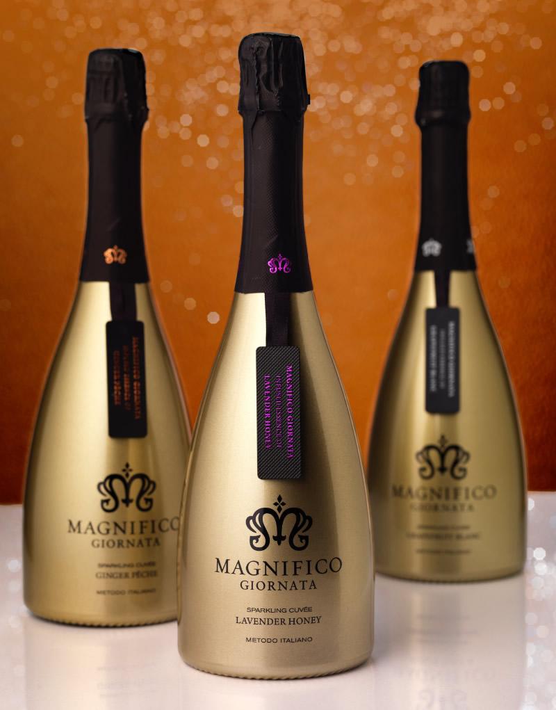 Magnifico Giornata Wine Packaging Design & Logo