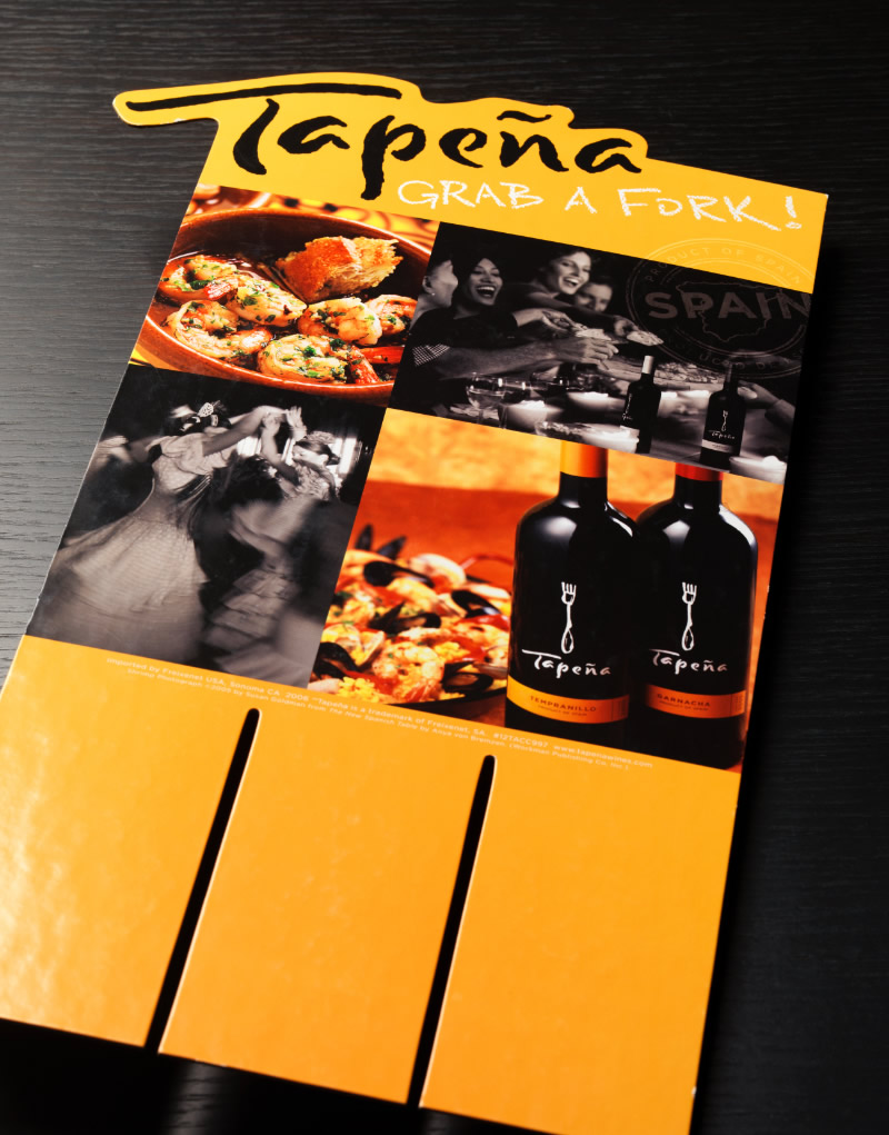 Tapeña Case Card Design