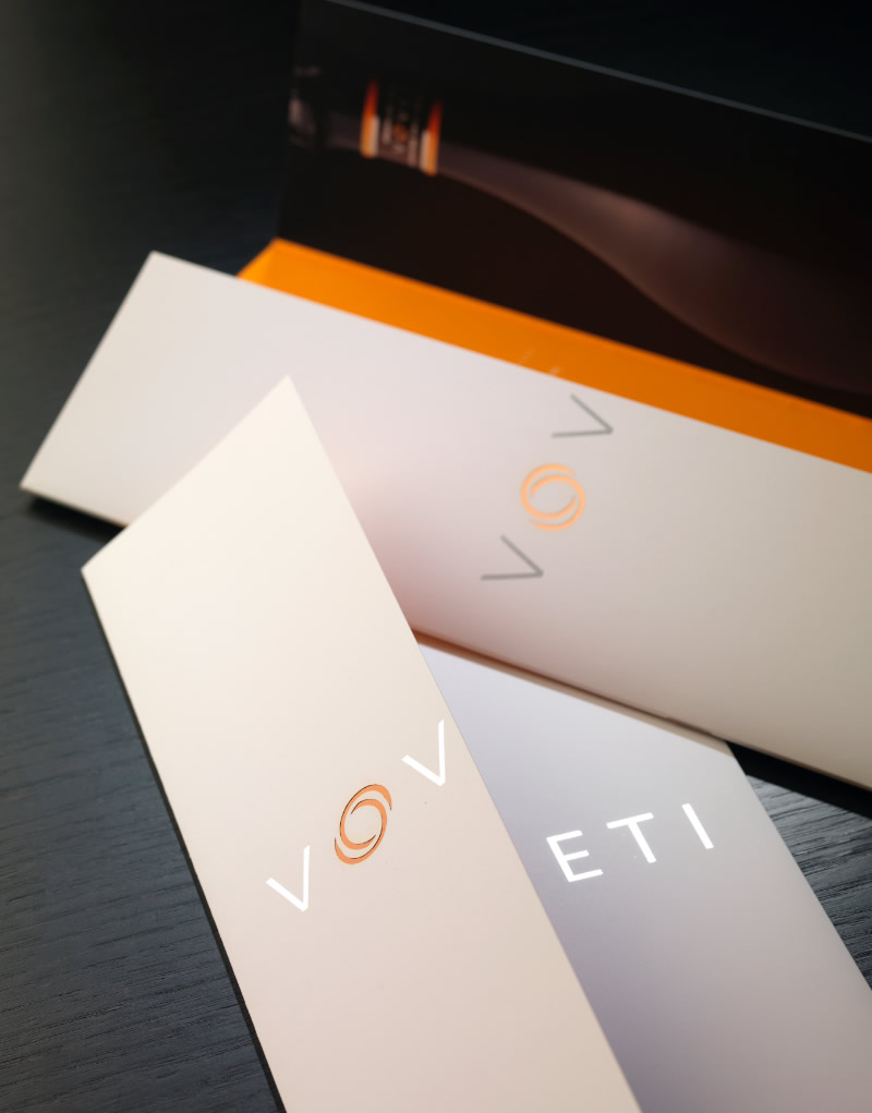 Voveti Brochure Cover Design
