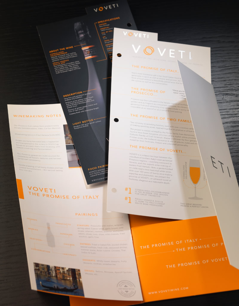 Voveti Brochure Pocket Design
