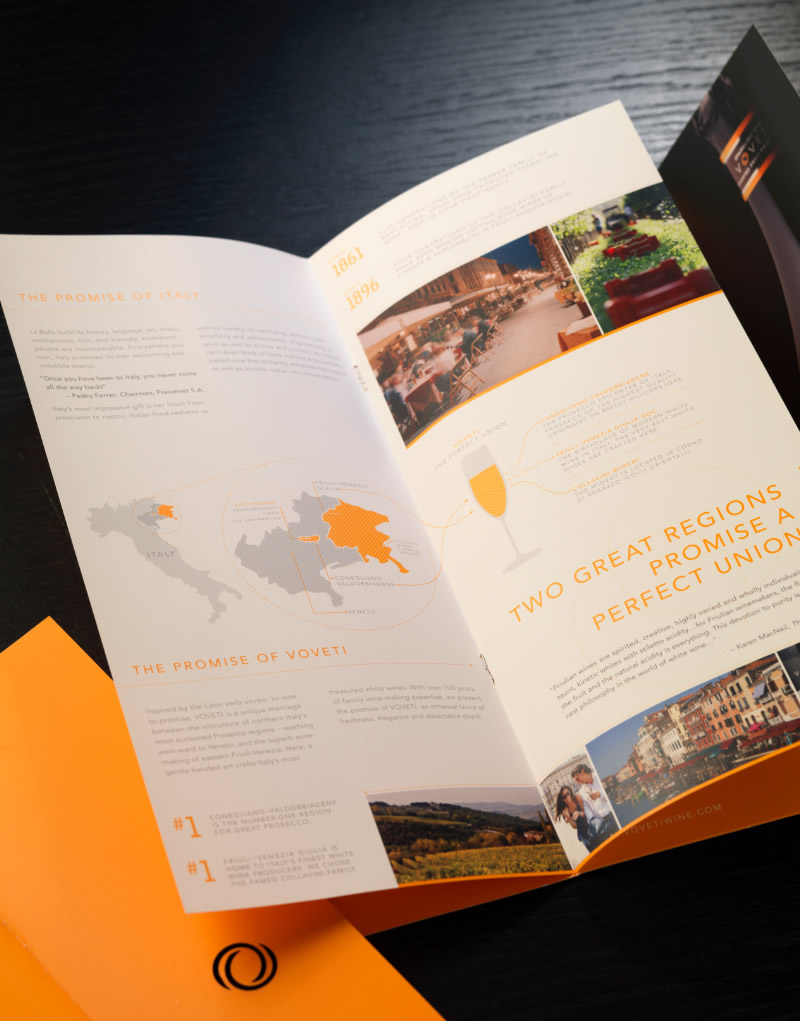 Voveti Brochure Inside Spread Design