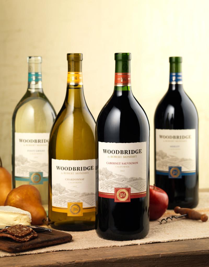 Woodbridge Wine Packaging Design & Logo 1.5L Formats