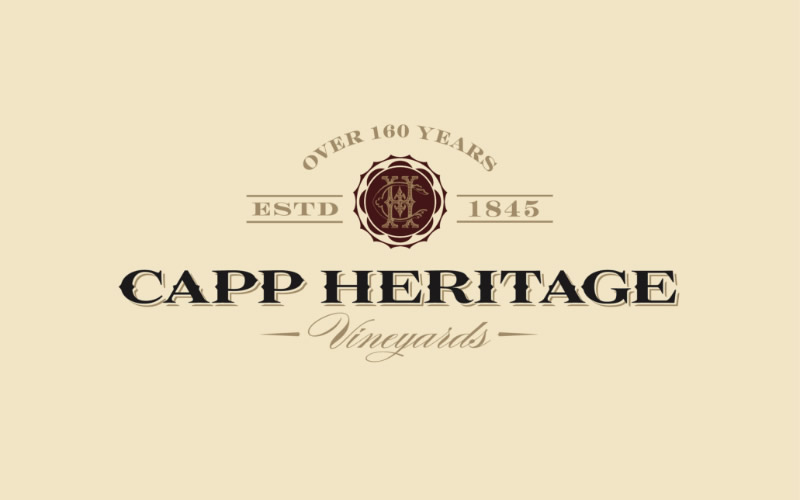 Capp Heritage Vineyards Logo Design
