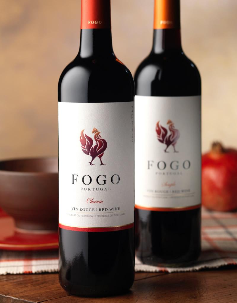 Fogo Wine Packaging Design & Logo