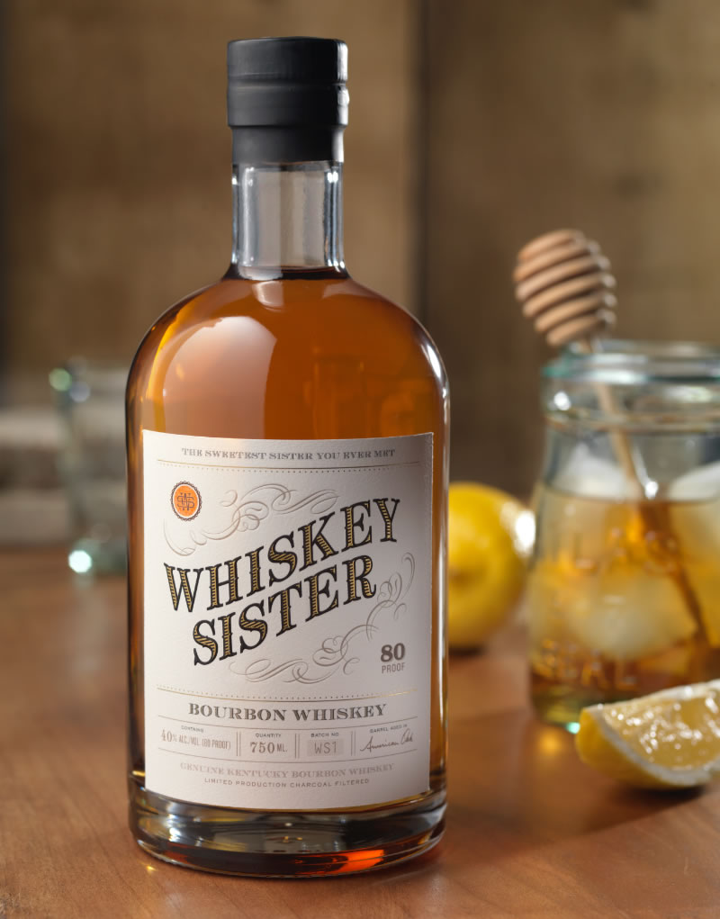 Whiskey Sister Packaging Design & Logo
