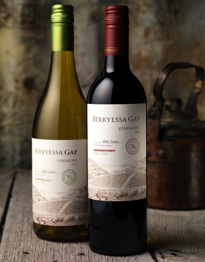 Berryessa Gap Wine Packaging Design & Logo Lower Tier