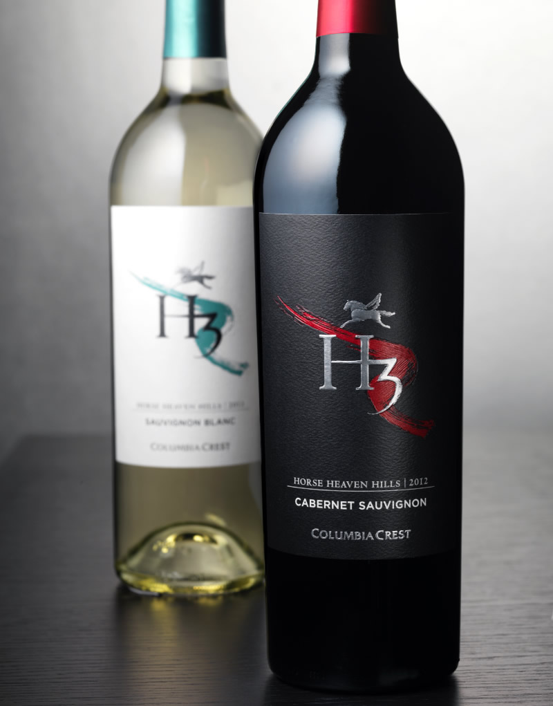 H3 Wine Packaging Design & Logo