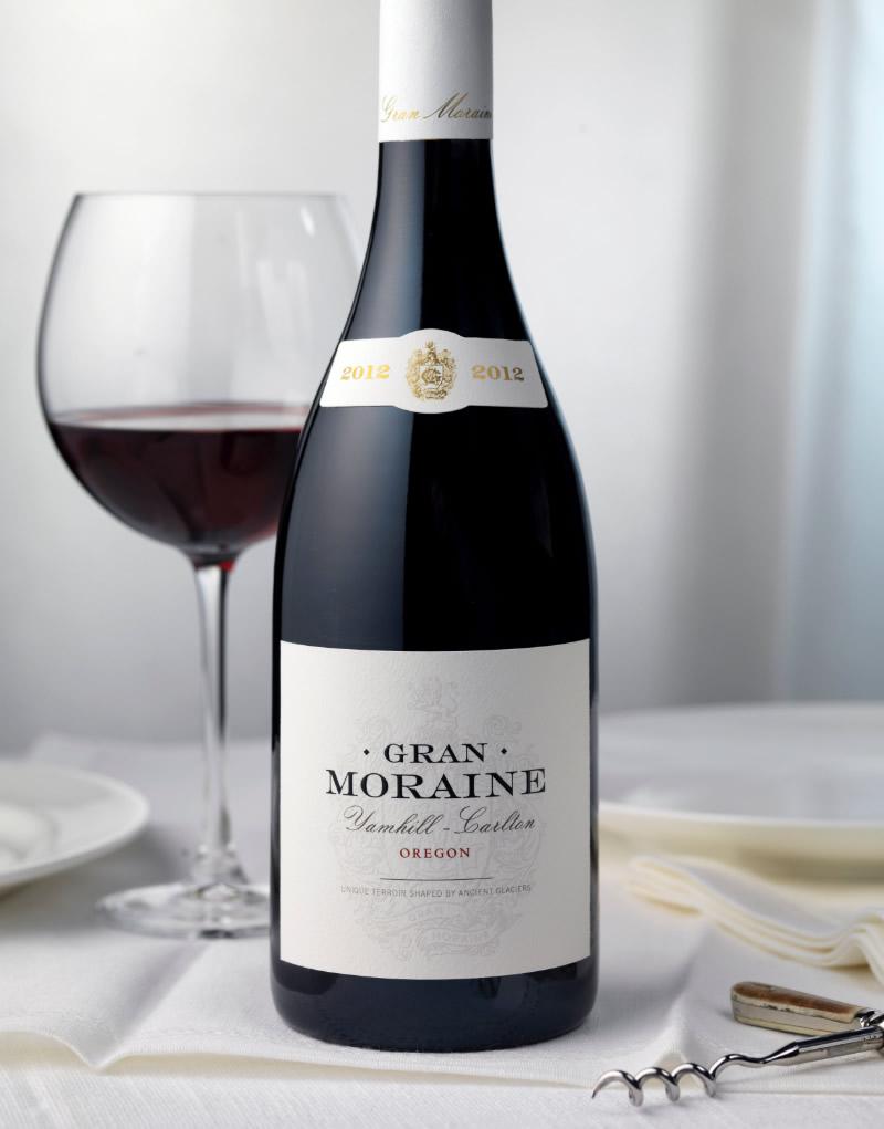 Gran Moraine Wine Packaging Design & Logo
