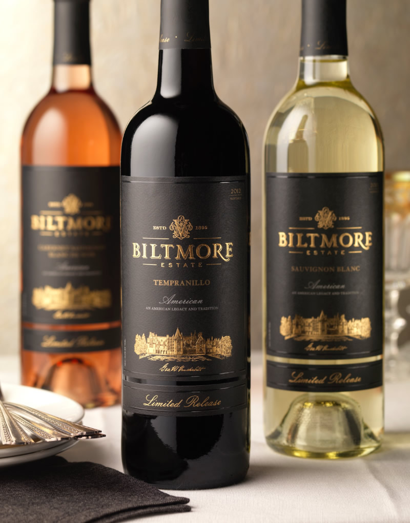 Biltmore Estate Wine Packaging Design & Logo Reserve