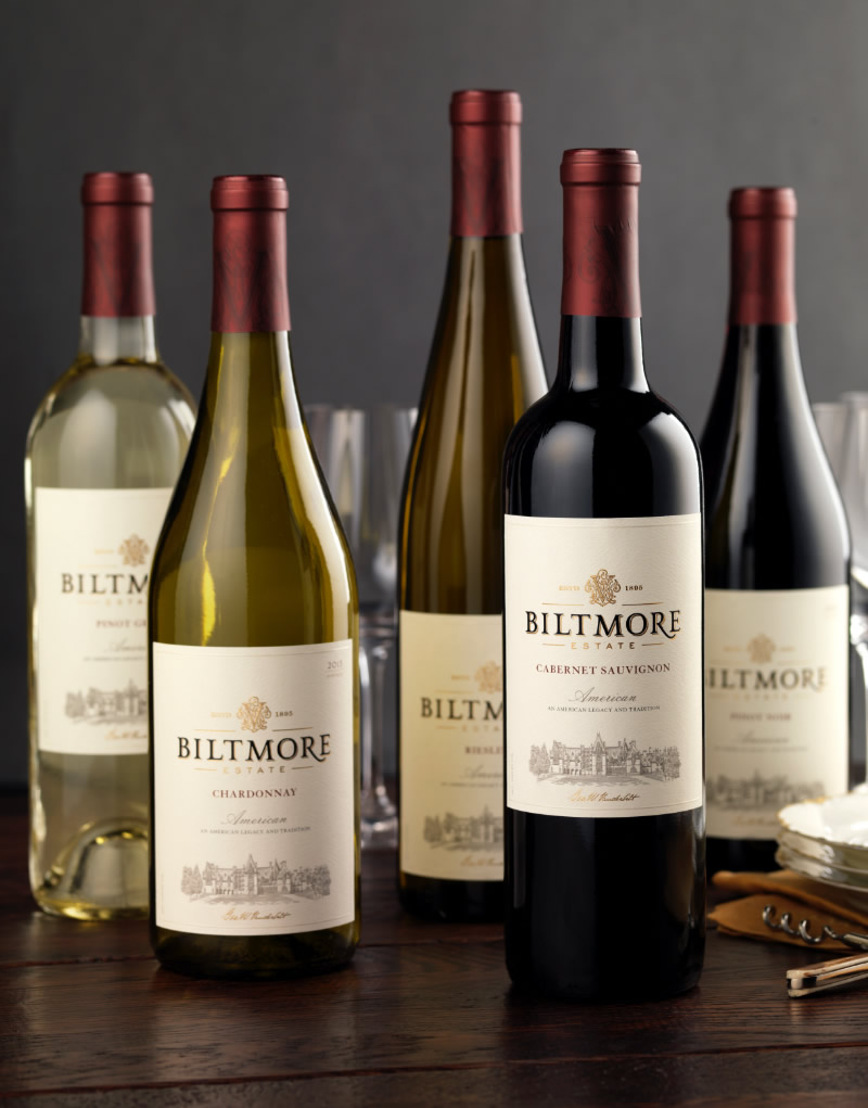 Biltmore Estate Wine Packaging Design & Logo