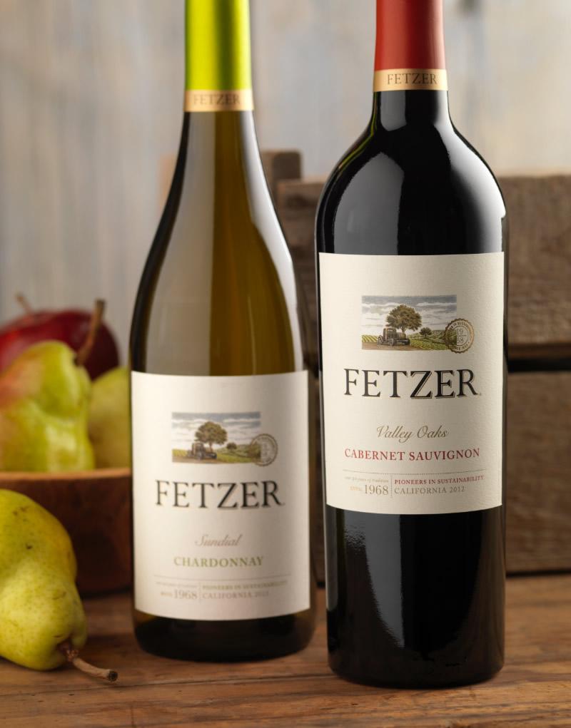 Fetzer Wine Packaging Design & Logo