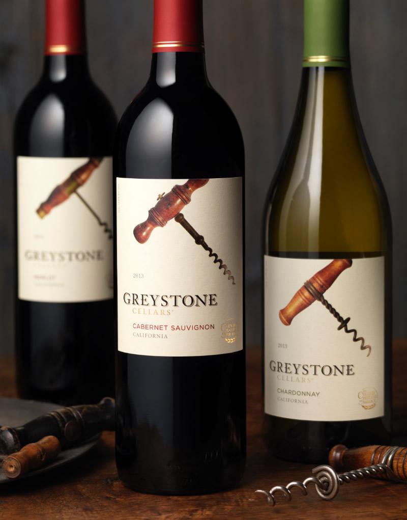 Greystone Wine Packaging Design & Logo