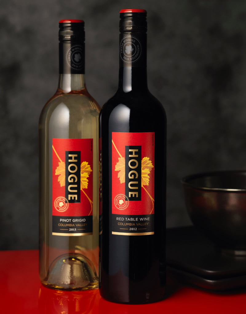 Hogue Wine Packaging Design & Logo