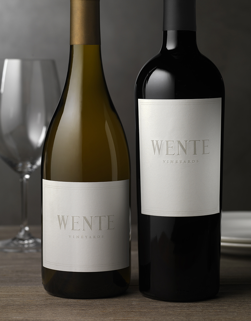 Wente Heritage Wine Packaging Design & Logo