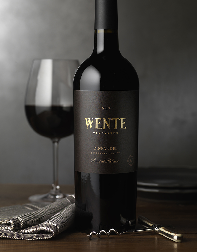 Wente Vineyards Wine Packaging Design & Logo Small Lot Wine