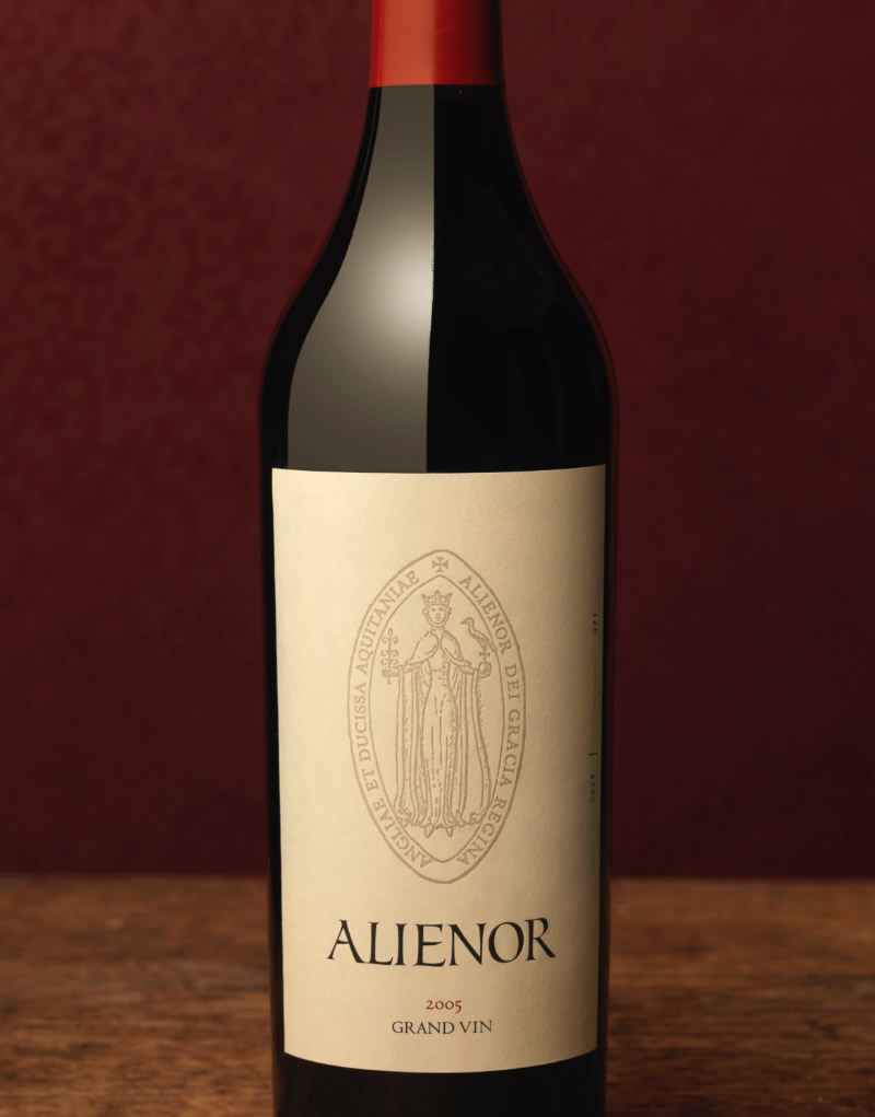Alienor Wine Packaging Design & Logo