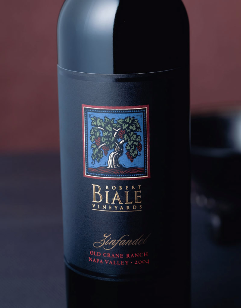 Robert Biale Wine Packaging Design & Logo