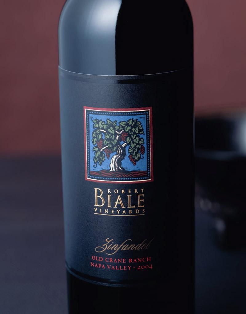 Robert Biale Wine Packaging Design & Logo
