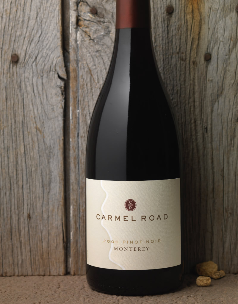 Carmel Road Wine Packaging Design & Logo
