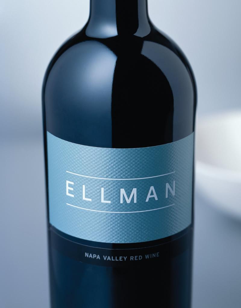 Ellman Wine Packaging Design & Logo