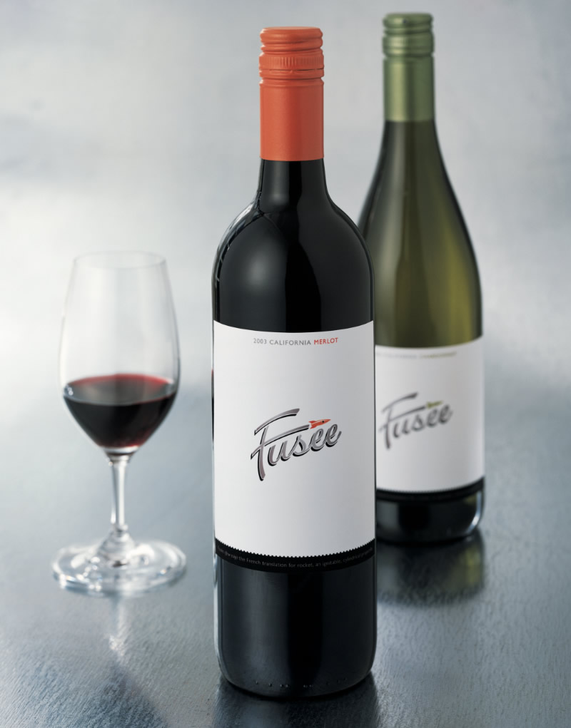 Fusée Wine Packaging Design & Logo
