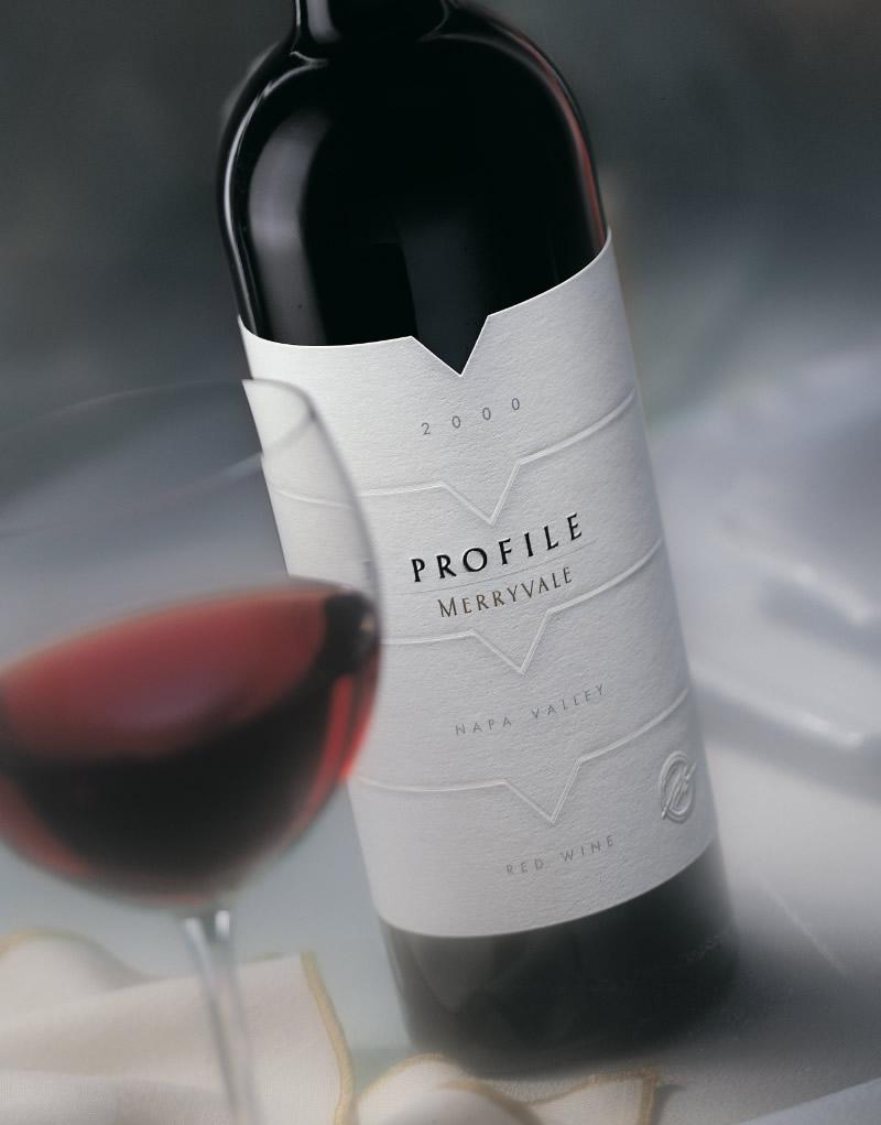 Profile Wine Packaging Design & Logo