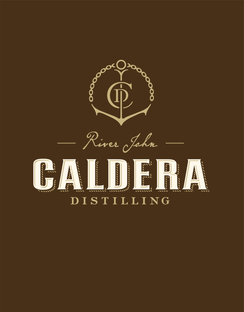 Caldera Distilling Co. Logo Design