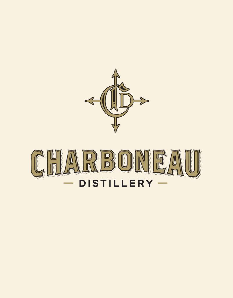 Charboneau Distillery Logo Design