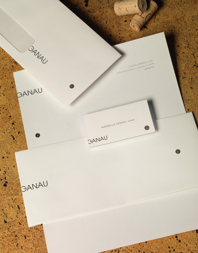Ganau Cork Stationery Design