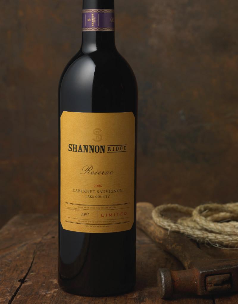Shannon Ridge Wine Packaging Design & Logo
