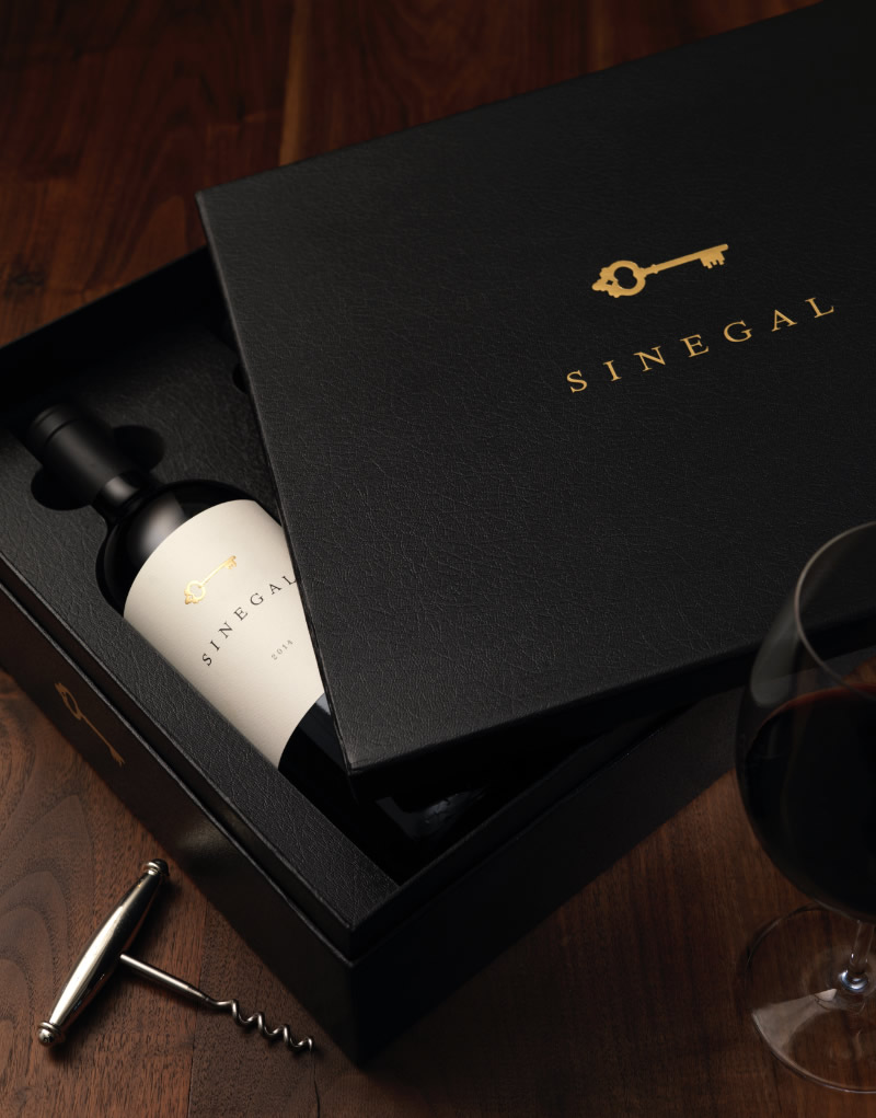 Sinegal Estate Gift Box Design