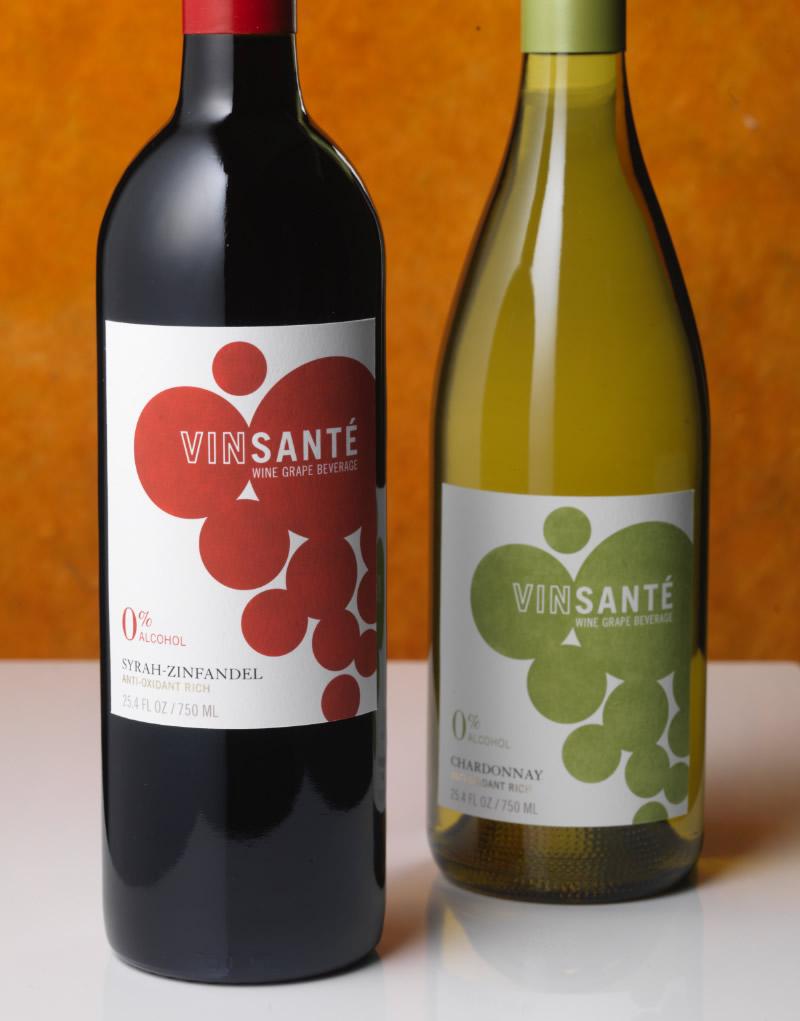 VinSanté Wine Packaging Design & Logo