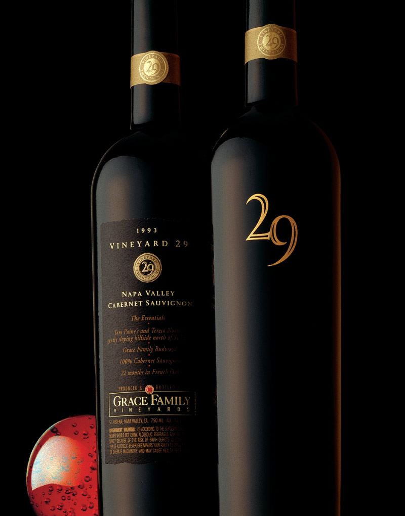 Vineyard 29 Wine Packaging Design & Logo
