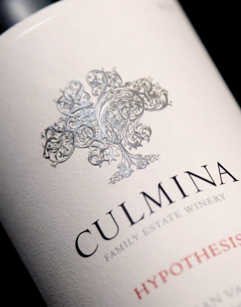 Culmina Family Estate Winery Label Detail