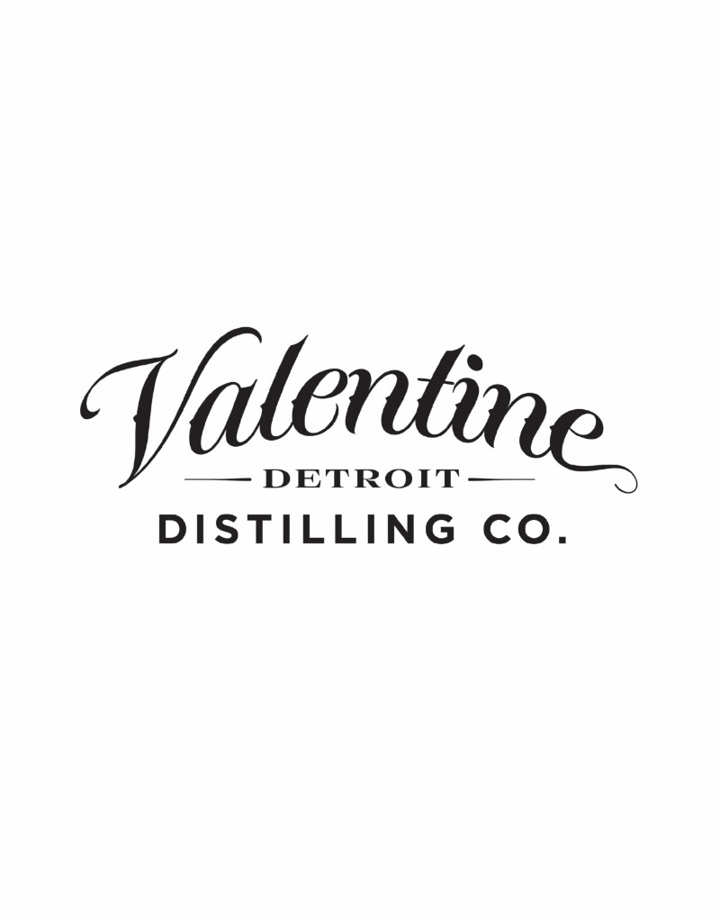Valentine Distilling Co. Logo Design